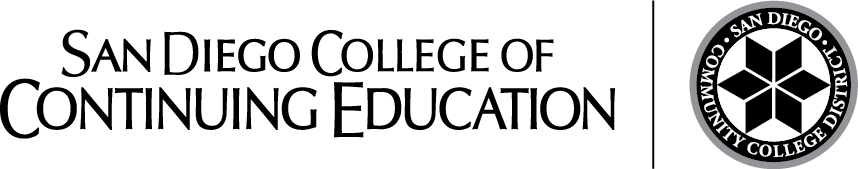 SDCCE Logo with District Seal – Horizontal