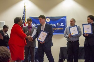 SDCE President recognized by State Assemblymember Shirley Weber, Ph.D.