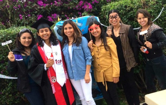 Karla Shares Proud SDSU Graduation Moment with Family and Friends