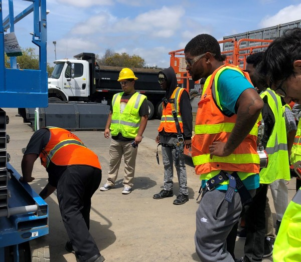San Diego Continuing Education graduates earn employment and are in the process of qualifying for union apprenticeship programs