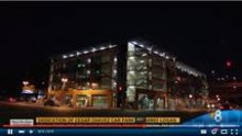 thumbnail of parking structure at night