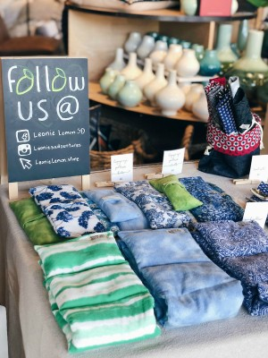 """Leonie Lemon"" Pop-Up Shop at West Elm in San Diego, CA"