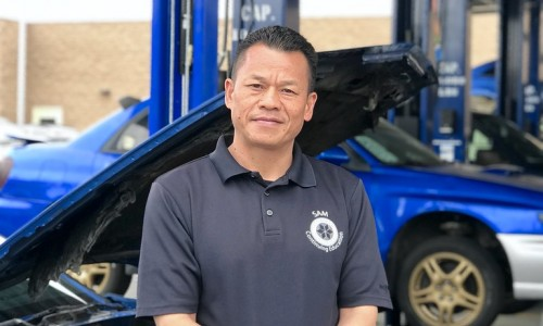 Sam Phu, Department Chair for the Automotive and Skilled and Technical Trades certificate programs at the San Diego College of Continuing Education.
