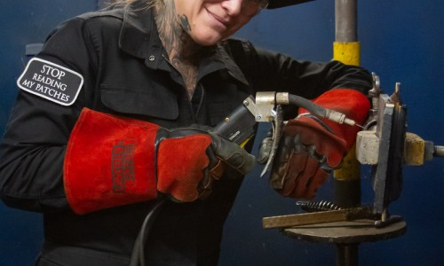 San Diego Student Selected as Top Female Welder in Nationwide Search